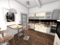 3D vizualizace kuchyni