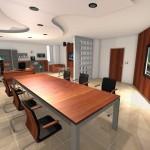 Vizualizace kanceláře